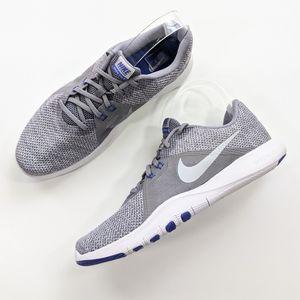 Nike Flex Trainer 8 Gunsmoke/Metallic Silver